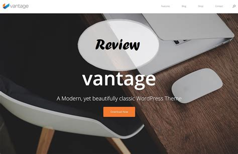 ultimate vantage wordpress theme review