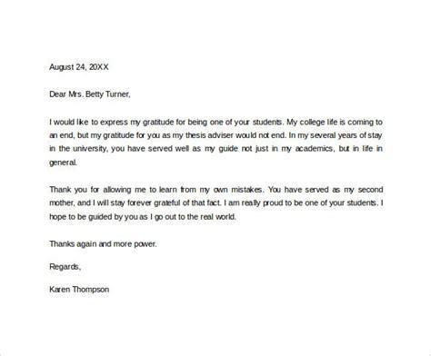letter  teacher template teacher
