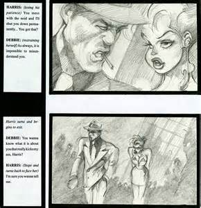 Cool World Original Storyboards