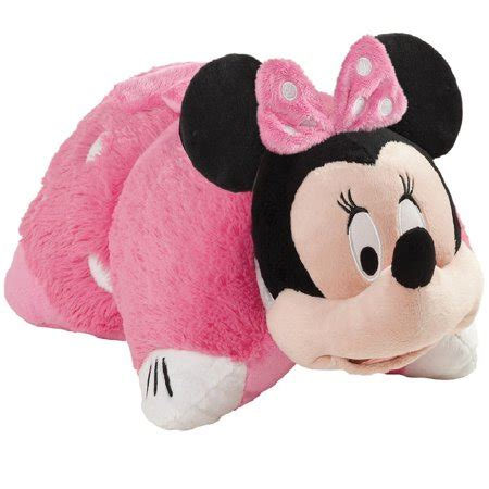 minnie mouse pillow minnie mouse 30 quot jumbo plush pillow pet walmart