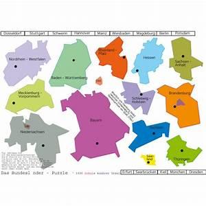 Puzzle Zum Ausdrucken : bundesl nder puzzle geographie pinterest schule ~ Lizthompson.info Haus und Dekorationen