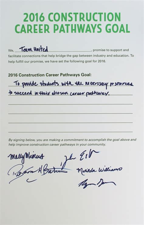 conference summary construction career pathways