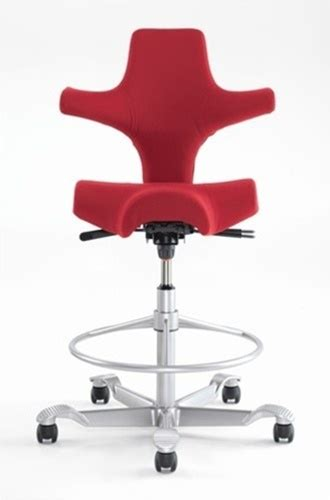 capisco saddle seat stool by hag saddles seats