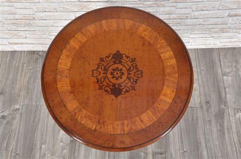 Tavoli Rotondi Da Salotto by Tavolo Rotondo Da Salotto O Ingresso Intarsiato Con