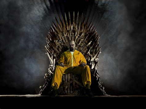breaking bad game  thrones iron throne walter white