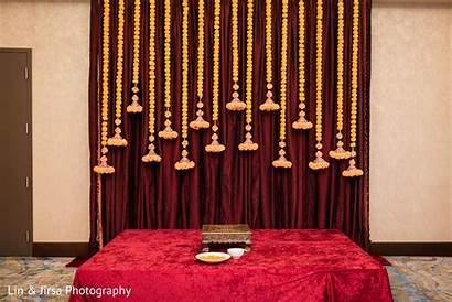 Stage Ceremony Decorations Engagement Haldi Decoration Simple