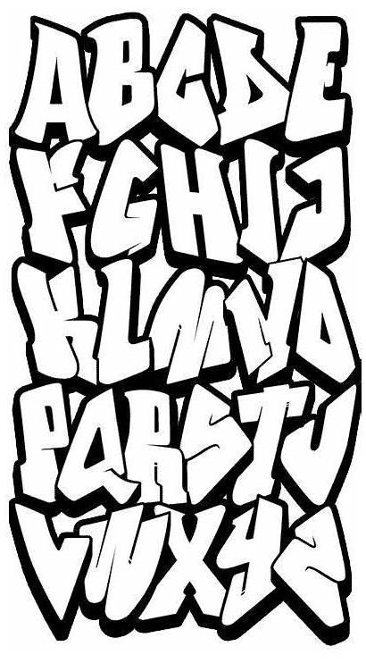 Graffiti Alphabet Lettering Pinim Ml