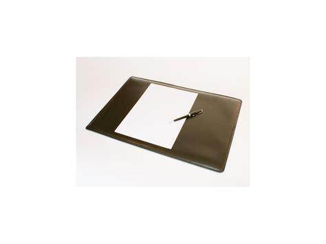sous mains bureau sous de bureau en cuir noir sm700