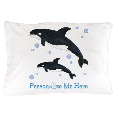 personalized killer whale pillow case  totsofun