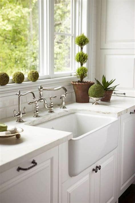 white kitchen farm sink caden design white kitchen with farmhouse sink with 1371
