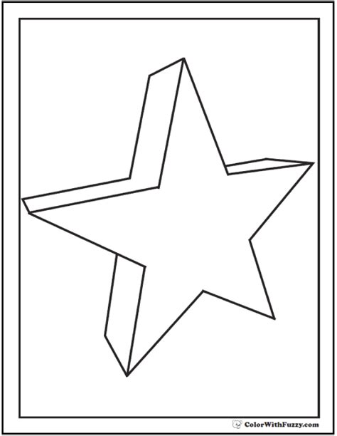 3d Coloring Pages Printable 3d Coloring Pages Geometrics And Three D Shapes