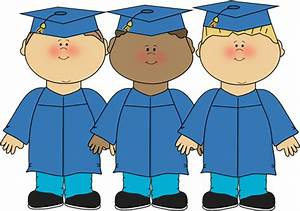 Graduation Clip Art - Kids Graduation - Kindergarten Pre-K ...