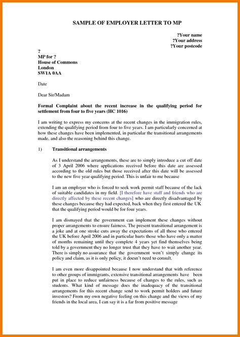 sample grievance letter  employer mysafetglovescom