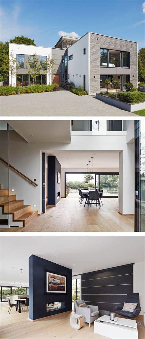 Modernes Haus Länglich by Modernes Einfamilienhaus Mit Flachdach Architektur