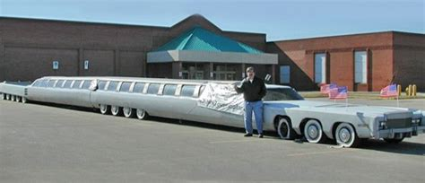 Large Limo by Stretch Limousine Built