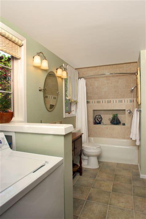 Bathroom Laundry Room Remodel  Eclectic Bathroom