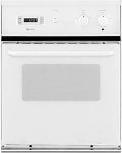 Maytag Cwe4100ace 24 U0026quot  Single Electric Wall Oven With 2 8