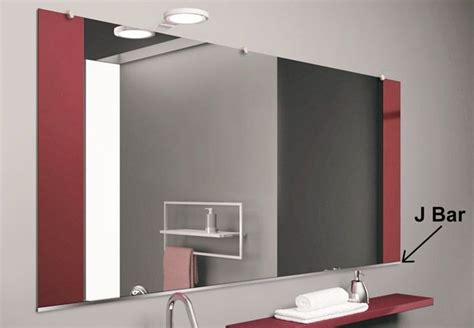 How To Install A Frameless Bathroom Mirror by J Bar Mirrors Frameless Mirror Mirror Beveled Mirror