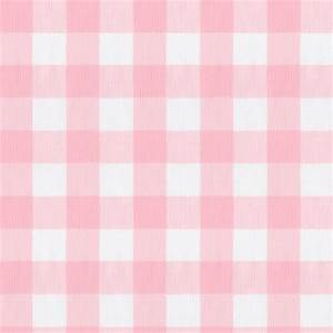 Large Pink Gingham Fabric by the Yard Pink Fabric