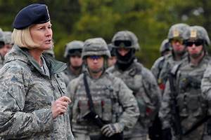 USAF security forces director tours expeditionary training ...
