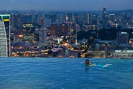 Singapore Hotel With Infinity Pool On Rooftop Image Hotel Macau Infinity Pool 25 Stunning Infinity Pools Around The World