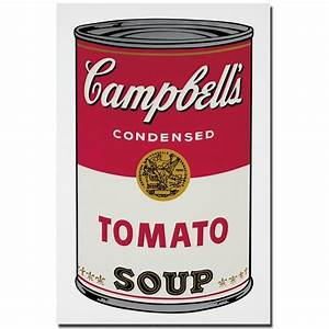 Andy Warhol Dose : 2017 andy warhol campbell 39 s soup can 1965 pop art print wall painting picture home abstract ~ One.caynefoto.club Haus und Dekorationen