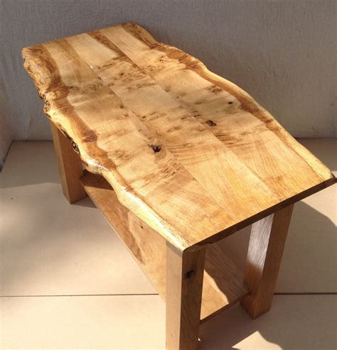 how to make a live edge table live edge table oak coffee table waney edge coffee table