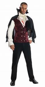 Adult Men Vampire Classic Halloween Costume | $16.99 | The ...