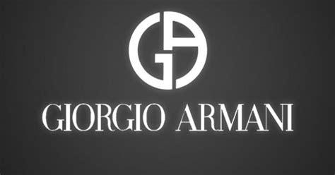 Giorgio Armani Logo 조르지오 알마니의 로고. 알파벳 G와 A를 이용한 심플하고 간결한