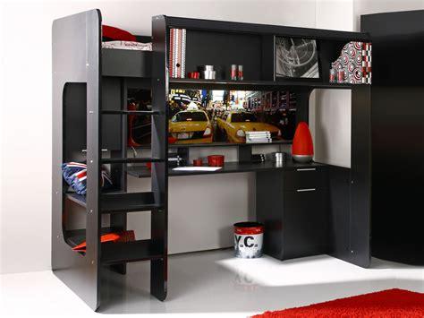 lit mezzanine avec bureau int r lit avec bureau integre maison design wiblia com