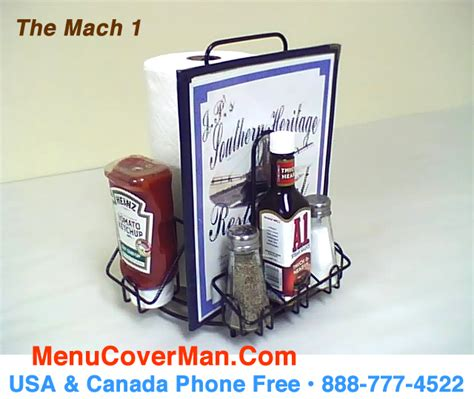 restaurant table top paper towel holder mach 1 condiments holder menu holder all in one