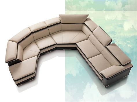 contemporary italian leather sectional sofas samoa contemporary full italian leather sectional sofa