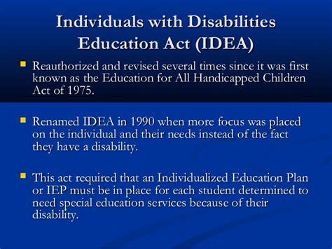 legislation  early childhood education
