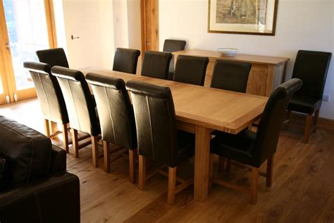 luxury dining table set leather titan chairs