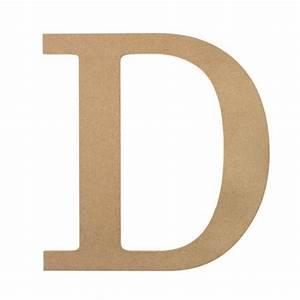 10quot decorative wood letter d ab2028 craftoutletcom With decorative letter d