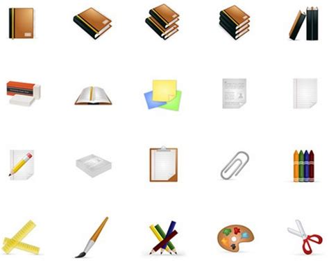 icones de bureau gratuites igraphisme icones gratuites sur le thème de l école