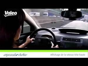 Gps Affichage Tete Haute : speed visio valeo affichage t te haute ref 632050 youtube ~ Medecine-chirurgie-esthetiques.com Avis de Voitures