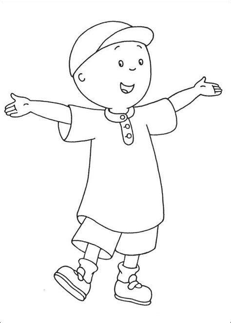 Caillou Print Out | CAILLOU - Coloring Pages 3 | Libro de