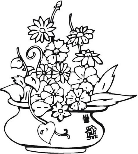 282 best images about Flower Coloring Pages on Pinterest