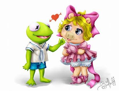 Piggy Kermit Miss Babies Muppets Muppet Couple