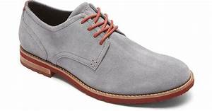 Rockport Ledge Hill Too Plaintoe Oxford in Gray for Men ...
