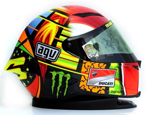 Agv Helmets Legenday Helmets From Italy  Valentino Rossi