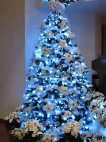 Blue Christmas Tree Decorations Ideas