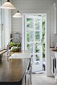 A Single French Door  Perfect From Kitchen To Deck