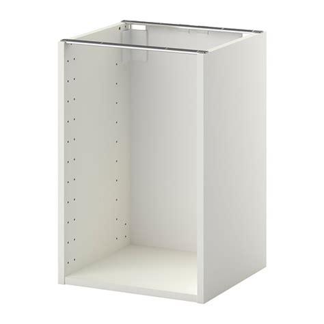prix d un robinet de cuisine metod structure élément bas blanc 40x37x60 cm ikea