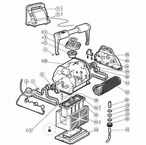 Tigershark By Hayward Replacement Parts For Robotic Pool