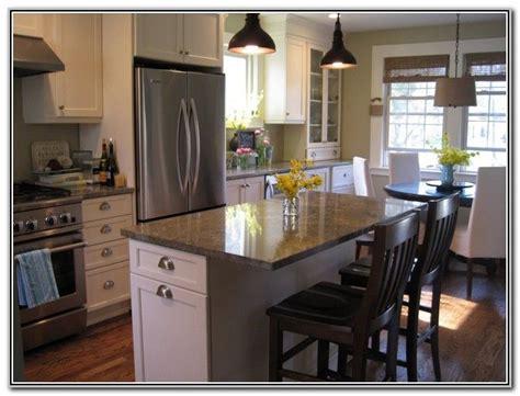 small kitchen island  seating   narrow kitchen