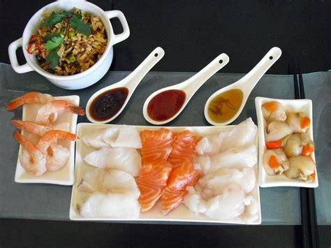 cuisine du poisson fondue japonaise facile au poisson la recette facile par