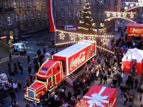 coca cola adventskalender 2016 er 246 ffnung adventskalender und coca cola weihnachtstruck
