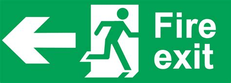 wall mounted alarm signs and notices